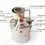 New-5-Gal-20-Litres-Alcohol-Moonshine-Ethanol-Still-Spirits-Stainless-Steel-Boiler-Water-Distiller-Wine-Making-Kit-0-0