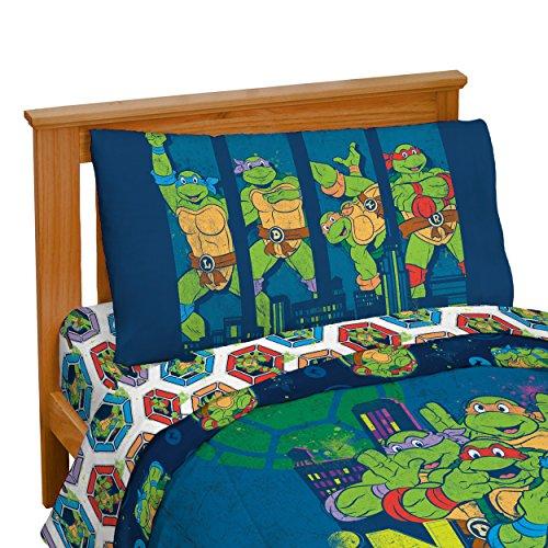 Nickelodeon-Teenage-Mutant-Ninja-Turtles-Turtley-Awesome-Toddler-Bed-Set-0-1