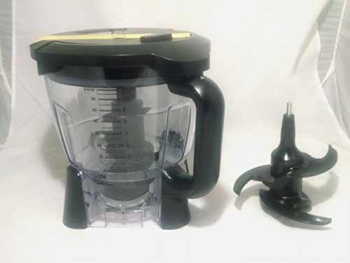 Ninja-Blender-64oz-Food-Processor-Bowl-Attachment-Kit-Duo-Auto-IQ-BL-640-BL641-BL642-BL680-and-BL682-Only-0