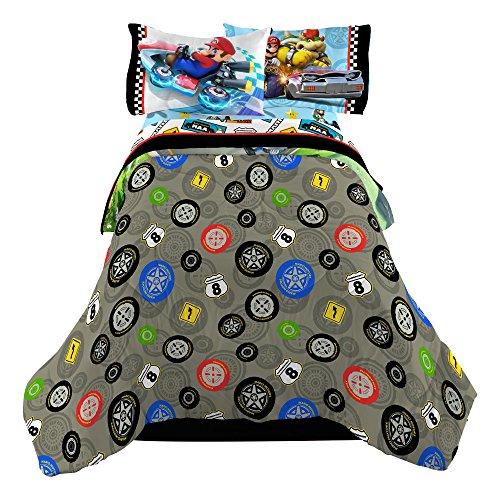 Nintendo-Super-Mario-Road-Rumble-Microfiber-Comforter-TwinFull-0