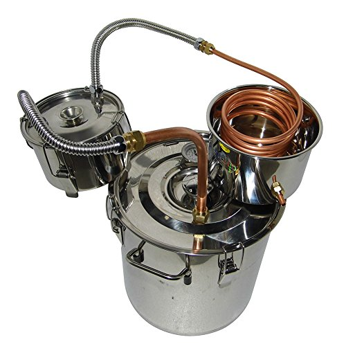 OLizee-8-Gal-Stainless-Steel-Water-Alcohol-Distiller-Copper-Tube-30L-Moonshine-Still-Spirits-Boiler-Home-Brewing-Kit-with-Thumper-Keg-0