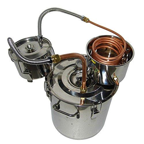OLizee-8-Gal-Stainless-Steel-Water-Alcohol-Distiller-Copper-Tube-30L-Moonshine-Still-Spirits-Boiler-Home-Brewing-Kit-with-Thumper-Keg-0