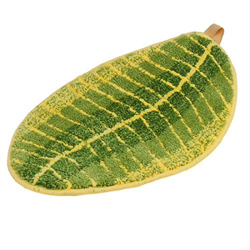 ONEONEY-Green-Leaf-Shaped-Oval-Bathmat-Living-Room-Carpet-Bedroom-Rug-Washable-Rugs-Home-Decorator-Floor-Rug-and-Carpets-157236-0