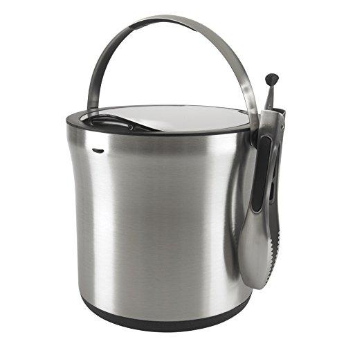 OXO-SteeL-Ice-Bucket-and-Tongs-Set-0