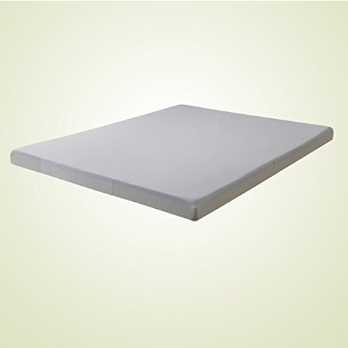 Olee-Sleep-4-Inch-Thick-Premium-Dura-Memory-Foam-Mattress-Topper-Pad-with-Cover-by-Sleeplace-0-0