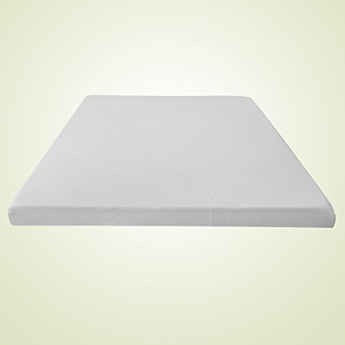 Olee-Sleep-4-Inch-Thick-Premium-Dura-Memory-Foam-Mattress-Topper-Pad-with-Cover-by-Sleeplace-0-1