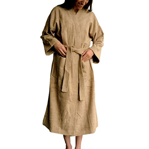 Organic-Bamboo-Terry-Bath-Robe-450-GSM-70-Bamboo-30-Cotton-Unisex-0