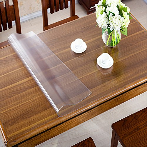 OstepDecor-Custom-Waterproof-PVC-Protector-for-TableDesk-Table-Pads-Table-Covers-With-Multi-Size-Available-Clear-0-1