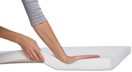 PharMeDoc-Memory-Foam-Mattress-Topper-2-Inch-Thick-Soft-Breathable-Bed-Overlay-Pad-Twin-Twin-XL-Queen-White-0-1
