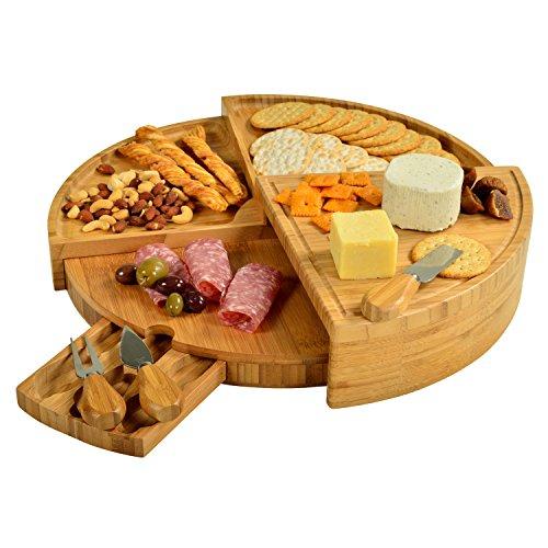 Picnic-at-Ascot-Vienna-Transforming-Bamboo-Cheese-Board-Set-0