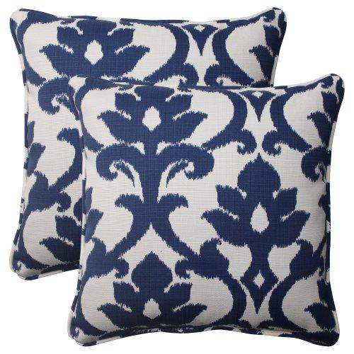 Pillow-Perfect-IndoorOutdoor-Bosco-Corded-Throw-Pillow-185-Inch-Navy-Set-of-2-0