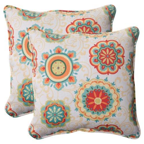 Pillow-Perfect-IndoorOutdoor-Fairington-Aqua-Corded-Throw-Pillow-185-Inch-Set-of-2-0