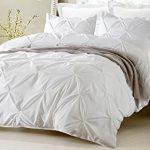 Pinch-Pleat-Design-White-Duvet-Cover-Set-Style-1006-0