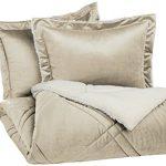Pinzon-Solid-Mink-to-Berber-Diamond-Comforter-Set-0