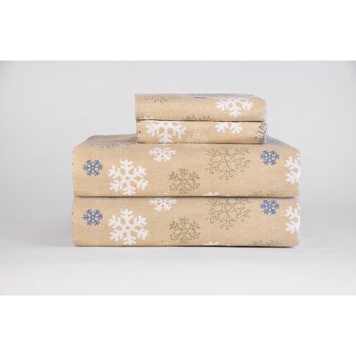 Pointehaven-Heavy-Weight-Printed-Flannel-100-Percent-Cotton-Sheet-Set-0