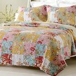Prairie-Multi-Color-Printed-Patchwork-Quilt-Set-Style-1003-0