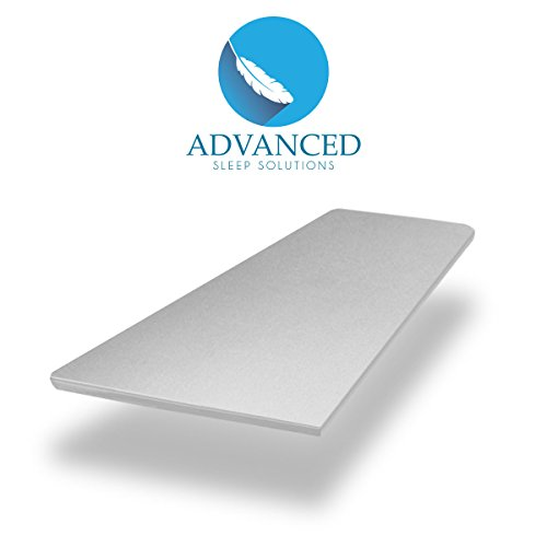 Premium-Memory-Foam-Mattress-Topper-2-Inch-ViscoElastic-CertiPUR-US-Soft-Cool-Comfort-and-Pressure-Point-Relief-USA-Made-60-Day-Comfort-Assurance-Plan-3-Year-Extended-Coverage-0-0