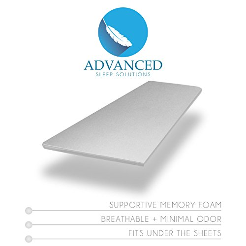 Premium-Memory-Foam-Mattress-Topper-2-Inch-ViscoElastic-CertiPUR-US-Soft-Cool-Comfort-and-Pressure-Point-Relief-USA-Made-60-Day-Comfort-Assurance-Plan-3-Year-Extended-Coverage-0-1