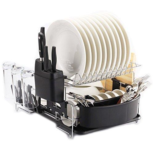 PremiumRacks-Professional-Dish-Rack-Fully-Customizable-Large-Capacity-Modern-Design-0-0