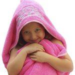 Princess-Hooded-KidBaby-Towel-275-x-49-Plush-and-Absorbent-Luxury-Bath-Towel-600-GSM-100-Cotton-0-0