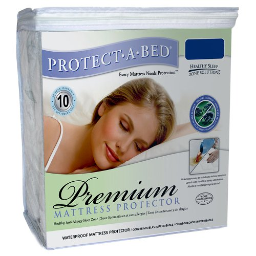 Protect-A-Bed-Premium-Waterproof-Mattress-Protector-0