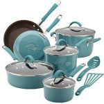 Rachael-Ray-Cucina-Hard-Porcelain-Enamel-Nonstick-Cookware-Set-0