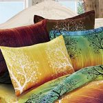 Rainbow-Tree-3pc-Duvet-Cover-Set-Duvet-Cover-and-Pillowcases-0-0
