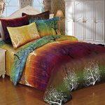 Rainbow-Tree-3pc-Duvet-Cover-Set-Duvet-Cover-and-Pillowcases-0