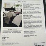 Ralph-Lauren-Standard-Plaid-Pillow-Sham-Balfour-Red-Grey-100-Cotton-0-0