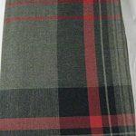 Ralph-Lauren-Standard-Plaid-Pillow-Sham-Balfour-Red-Grey-100-Cotton-0