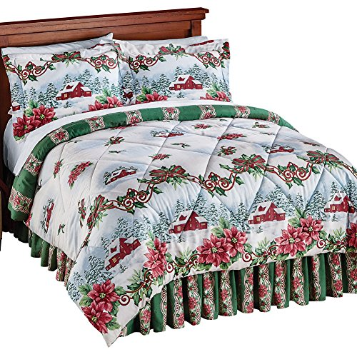 Reversible-Home-for-the-Holidays-Comforter-Set-0