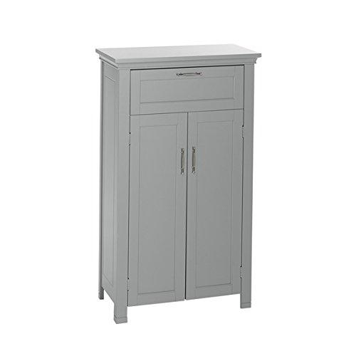 RiverRidge-Somerset-Collection-Grey-MDF-2-door-Floor-Cabinet-0-0
