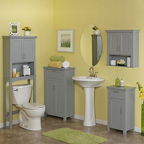 RiverRidge-Somerset-Collection-Grey-MDF-2-door-Floor-Cabinet-0-1