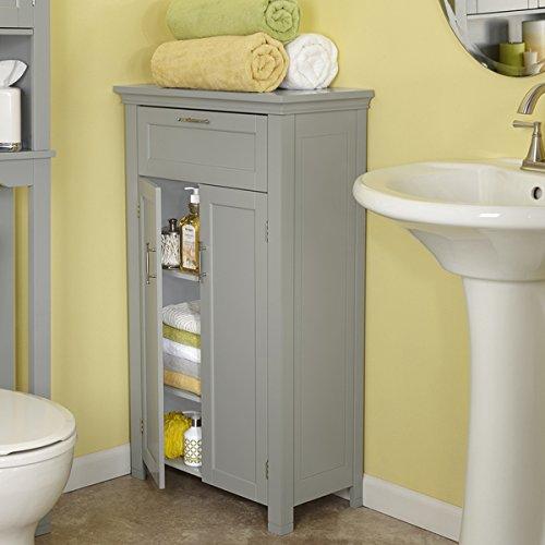 RiverRidge-Somerset-Collection-Grey-MDF-2-door-Floor-Cabinet-0