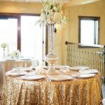 Round-Sparkly-Gold-Sequin-Glamorous-Clothfabric-for-Weddding-Banquet-Any-Size-Available-0-0