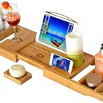 Royal-Craft-Wood-Luxury-Bathtub-Caddy-Natural-Bamboo-Bath-Tub-Tray-with-1-Free-Soap-Holder-0-0