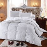 Royal-Hotels-300-Thread-Count-Goose-Down-Alternative-Comforter-100-Cotton-300-TC-750FP-Solid-White-0