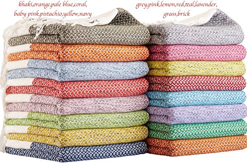 SET-of-4-New-Season-BRIGHTEST-Diamond-Weave-Turkish-Cotton-Bath-Beach-Hammam-Towel-Peshtemal-Blanket-0-0