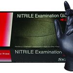SKINTX-Nitrile-Powder-Free-5-55-mil-Medical-Grade-Examination-Glove-Black-0