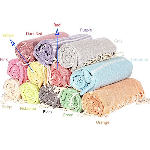 Sale-Set-of-6-XL-Turkish-Cotton-Peshtemal-Bath-Beach-Spa-Sauna-Hammam-Gym-Towel-0-0
