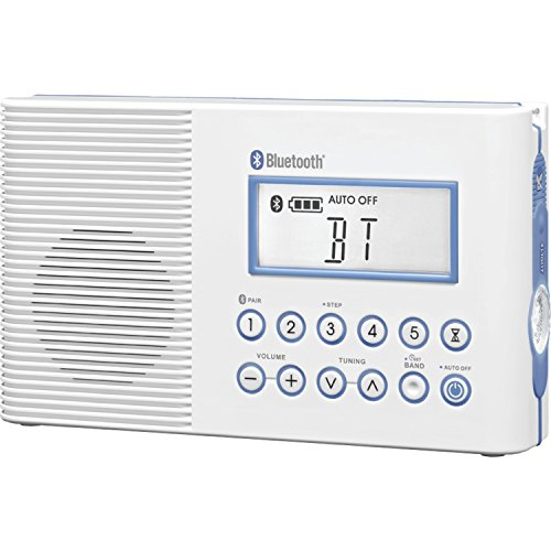 Sangean-H202-AMFMWeather-Digital-tuned-WaterproofShower-Radio-with-Bluetooth-0