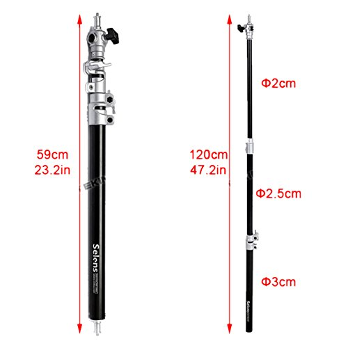 Selens-472-Phototo-Video-Studio-Extension-Lighting-Boom-Arm-for-Softbox-Light-with-Carrying-bag-0-1