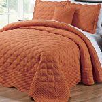 Serenta-Quilted-Cotton-4-Piece-Bedspread-Set-0
