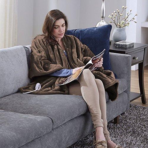 Serta-038533837664-Snuggler-Electric-Heated-CapeThrow-Blanket-0