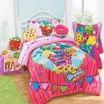 Shopkins-Kids-4-Piece-Bed-in-a-Bag-Twin-Bedding-Set-Reversible-Comforter-Microfiber-Sheets-Pillow-Case-by-Moose-Shopkins-0-0
