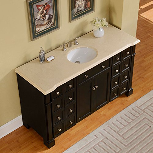 Silkroad-Exclusive-Marble-Top-Single-Sink-Bathroom-Vanity-with-Dark-Walnut-Finish-Cabinet-60-Inch-0-0