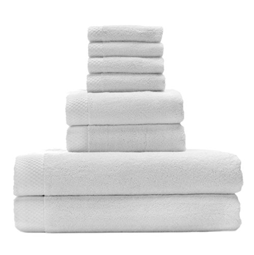 Silky-Soft-8-Piece-Bath-Towel-Set-by-BedVoyage-a-Blend-of-70-Rayon-from-Bamboo-and-30-Cotton-Feel-the-Eco-Resort-Collection-of-Spa-Luxuriousness-and-Opulence-In-Your-Own-Bathroom-0