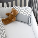 Simons-Baby-House-100-Cotton-7-piece-Crib-bedding-set-Chevron-Zig-Zag-0-0