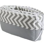 Simons-Baby-House-100-Cotton-7-piece-Crib-bedding-set-Chevron-Zig-Zag-0-1