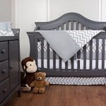 Simons-Baby-House-100-Cotton-7-piece-Crib-bedding-set-Chevron-Zig-Zag-0